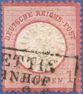Germany, Reich 1 G. 1872, Sc #17, Used (3) - Germany