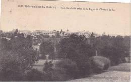 20848 SAINT-GERMAIN-SUR-ILLE - Vue Générale Prise De La Ligne Du Chemin De Fer -  3332 Lamire -tampon Convoyeur