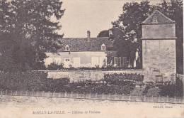 20849 Mailly La Ville . Le Chateau De Violaine -toulot éd -tampon Convoyeur Nevers Roche -1905