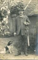 N°24463 -carte Photo -un Chasseur De Beaumont La Ronce- - Beaumont-la-Ronce
