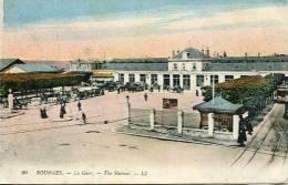 N°24476 -cpa Bourges -la Gare- - Gares - Sans Trains
