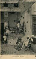N°24473 -cpa Marchand De Beignets En Afrique Du Nord- - Other