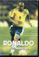 "RONALDO ""O Fenômeno"" DVD Sur La Star Du Football Brésilien (58 Minutes) - Sport"