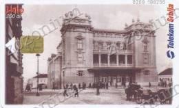 BEOGRAD Narodno Pozoriste,The National Theatre, SERBIA SRBIJA, Phonecard - Unclassified