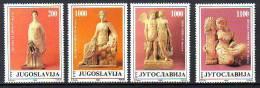 Yugoslavia 1988 Y Art Sculptures Mi No 2307-10 MNH - Unclassified