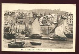 CPA  HONFLEUR  Le Port Et La Côte De Grâce - Honfleur