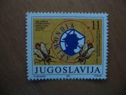 Yougoslavie Jugoslawien APIMONDIA Bee, Biene, Abeille - Abeilles