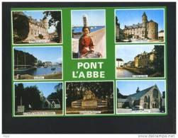 29  PONT L´ABBE  La Riviere, L´Hotel De Ville, L´Eglise Des Carmes ... - Pont L'Abbe