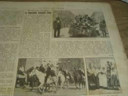 DOMENICA DEL CORRIERE 31/5/1925 DESULO OZIERI FONNI PLOAGHE PASTRENGO MONUMENTO AI CADUTI - Libri, Riviste, Fumetti