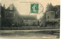 CPA 42 LA PACAUDIERE CHATEAU DE LA SALLE 1908 - La Pacaudiere