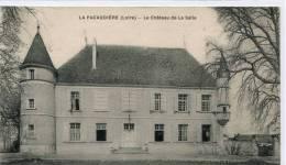 CPA 42 LA PACAUDIERE CHATEAU DE LA SALLE 1939 - La Pacaudiere