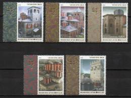 Greece @ 2012 > Mi 101/05 > Athos Katholika 3rd ( Major Church ) > Set New MNH ** - Greece