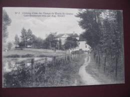 RHODE-ST-GENESE - Château D´eau Des étangs - Café Restaurant Tenu Par AUG. RODET En 1920 - Rhode-St-Genèse - St-Genesius-Rode