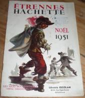 HACHETTE ETRENNES NOËL 1951 Bibliothèque Verte Rose Jeunesse Fiction Albums - Sonstige