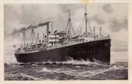 """NORDDEUTSCHER LLOYD BREMEN - DAMPFER [ PAQUEBOT ] : """" KÖLN-CREFELD """" - ANNÉE ~ 1920 - 1930 (m-185) - Steamers"""