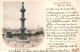 75 PARIS PUITS ARTESIEN CARTE PRECURSEUR CIRCULEE 1902 - Unclassified