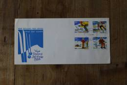 I++2++2++1984++NEW ZEALAND SKI FIELDS 1984++BLANCO++SEE PICTURE - FDC