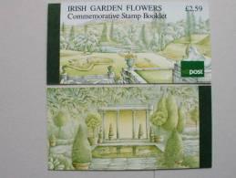 Irland 729/32 MH 15 Booklet 15 ** MNH, Irische Gartenblumen - Booklets
