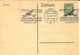 W-GA155 / Maschinnstpl. Mannheim,  Sueddeutschlandflug Und Flugplatz-Einweihung, Mannheim 1926 - Deutschland