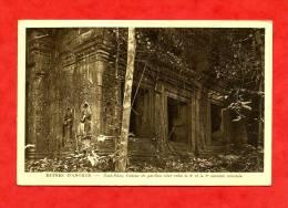 * ASIE-CAMBODGE-RUINES D ANGKOR-Prah-Khan,Linteau Du Pavillon Situé Entre La 2è Et La 3è Enceinte Orientale - Cambodia