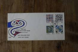 I++2++11++1988++NEW ZEALAND++RAFTER PAINTING++BLANCO++ SEE PICTURE - FDC