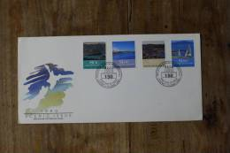 I++2++13++1990++NEW ZEALAND++150 YEAR SCENIC ISSUE++BLANCO++ SEE PICTURE - FDC