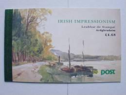 Irland 817/0 MH/booklet 21 **, MNH, Gemälde Irischer Impressionisten - Libretti