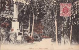 Chine -  Hong-Kong -  Cemetery - Cimetière - Postmark Cachet 1929 - Chine (Hong Kong)