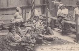 Algérie - Travail Enfants - Tissage Métier - Kinderen