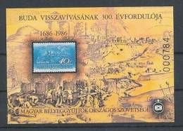 1986. In The Recovery Of The 300th Anniversary - Commemorative Sheet :) - Commemorative Sheets