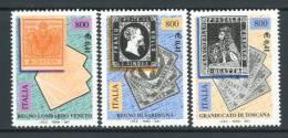 ITALIA / ITALY 2001** - Regno Lombardo Veneto - Regno Di Sardegna - Regno Di Toscana - 3 Val. Come Da Scansione - 6. 1946-.. Repubblica