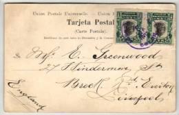 Panama - 2 X 1 Centesimo Stamps Cover - 1906 - Panama