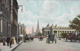 UK - Edinburgh - Princes Street (Looking East) Top Animation - Midlothian/ Edinburgh