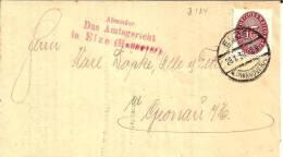 W190 / Dienstbrief Vom Amtsgericht Elze 1930 - Deutschland