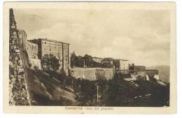 CARTOLINA - CAMERINO - PANORAMA - VISTA DAL PINCETTO  - VIAGGIATA NEL ´36 - MARCHE - Macerata