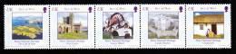 Isle Of Man MNH Scott #1051 Strip Of 5 (28p) Manx National Heritage - Man (Ile De)