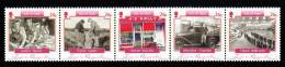 Isle Of Man MNH Scott #1108 Strip Of 5 26p Photographs Of Everyday Life - Man (Ile De)
