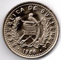 GUATEMALA 25 CENTAVOS 1986 - Guatemala