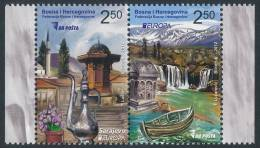 "BOSNIA/Bosnien Herzegowina BiH, EUROPA 2012 ""Visit Bosnia"" Set Of 2v** - Europa-CEPT"