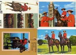 4 CP - Royal Canadian Mounted Police   (48033) - Alberta