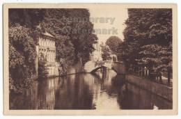 BELGIUM / BELGIQUE - Brugge / Bruges  - Quai Des Marbriers Et Pont De L'Hydromel - C1920s-1930s CPA  [c4724] - Brugge