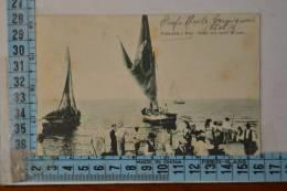 1923 Chieti  FRANCAVILLA A MARE   Il Ritorno Delle Barche Da Pesca  - Bellissima - Chieti
