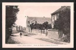 Fexhe Le Haut Clocher. Route De Neuville Et Maison Communale. Voyagée. - Fexhe-le-Haut-Clocher