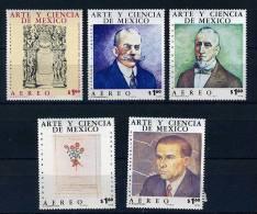 SMexique ** PA N° 400 à 404 - Art Et Science Au Mexique - Mexico