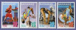 bah1202c0 Bahamas 2012 Games of the XXX Olympic London 4v Boxing Clock Bridge