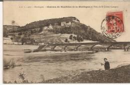 Saint-Julien Lampon. Château De Rouffillac Et La Dordogne... - France