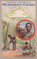 Afrique -  Congo - Oubangui-Chari - Récolte Sève - Congo Français - Autres