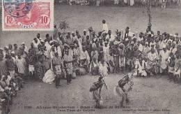 Afrique - Soudan - Bamako - Danse  Tam Tam Griots - Soudan