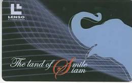 Thailand Phonecard  Siam,Elephant 500 Baht Lenso Nr. 176 - Thailand