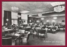 """BERGEN. N.H. - Café - Hôtel - Taverne. """"De Rustende Jager"""" . (C.P.S.M.) - Nederland"""